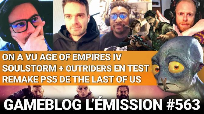PODCAST 563 : Place à Age of Empires IV, Outriders, Soulstorm, et au remake PS5 The Last of Us