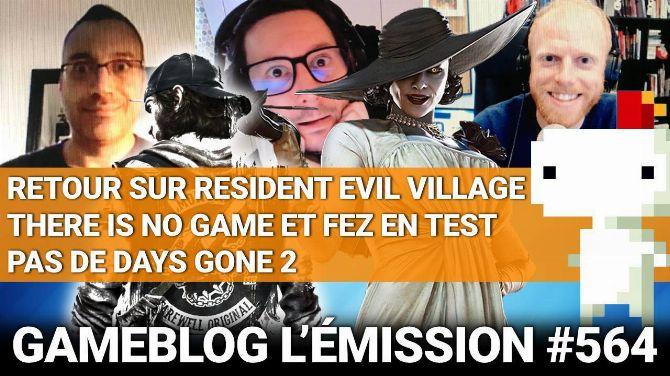 PODCAST 564 : Retour sur RE Village, There Is No Game, FEZ et Days Gone 2