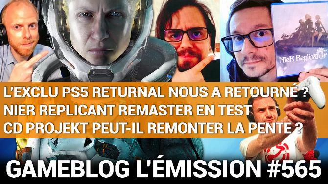 PODCAST 565 : NieR Replicant, Returnal et l'avenir de CD Projekt RED en question