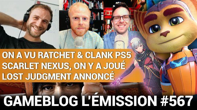 PODCAST 567 : Ratchet & Clank, Scarlet Nexus et Lost Judgment nous déconfinent