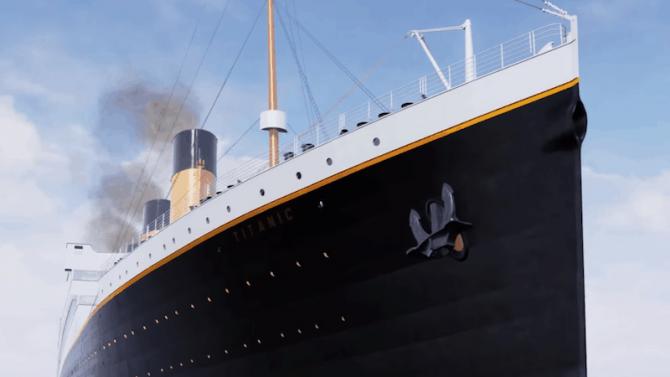 Titanic Honor and Glory : Le naufrage comme si vous y etiez, la vidéo