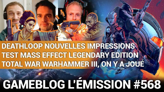 PODCAST 568 : Trio de légendes avec Mass Effect, Total War Warhammer III et Deathloop