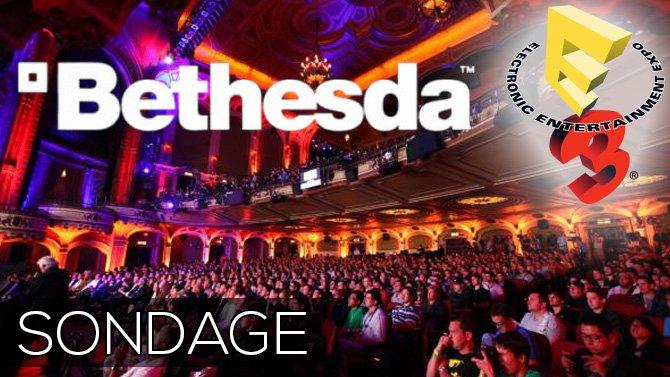 SONDAGE E3. Conférence Bethesda, qu'en avez-vous pensé ?