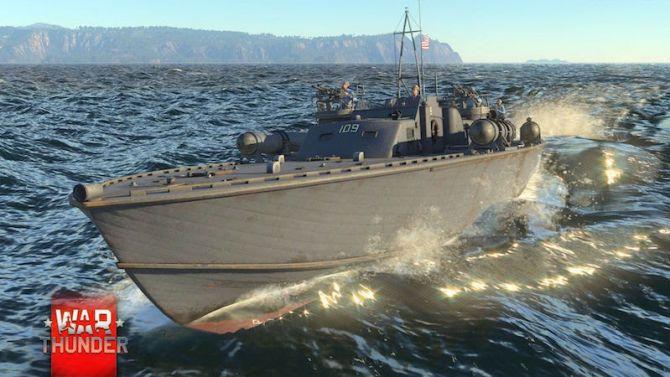 War Thunder se met aux batailles navales