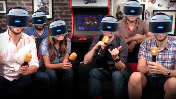 #GameblogLIVE : Découvrez le PlayStation VR et ses premiers jeux