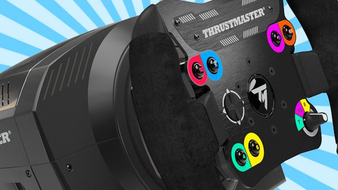 thrustmaster annonce un nouveau volant surprise le ts pc racer. Black Bedroom Furniture Sets. Home Design Ideas