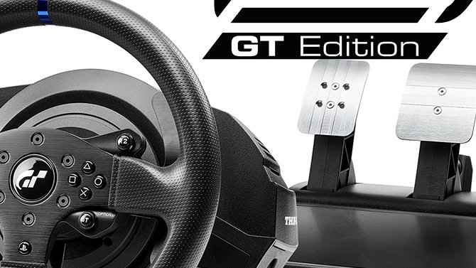thrustmaster lance son volant pour gran turismo sport. Black Bedroom Furniture Sets. Home Design Ideas