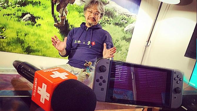 Nintendo Switch : Nouvelle prise en main avec Eiji Aonuma, notre avis (poids, matériaux...)