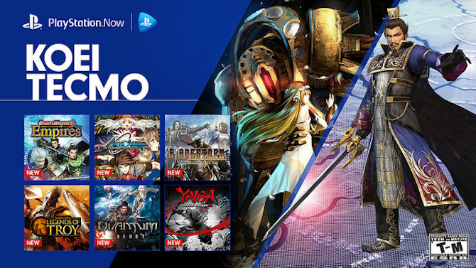playstation now des nouveaux jeux koei tecmo disponibles. Black Bedroom Furniture Sets. Home Design Ideas