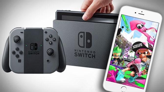 Switch : Nintendo détaille l'application smartphone dédiée au jeu multi
