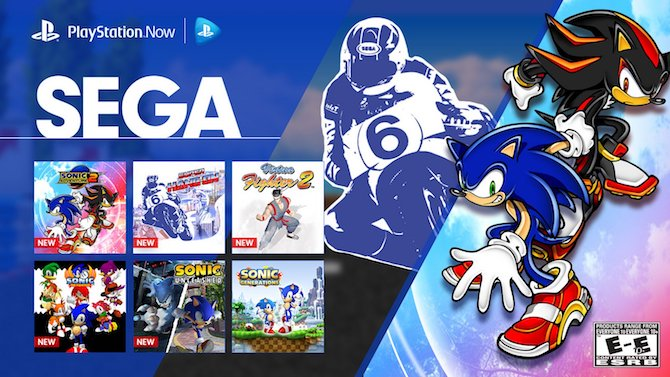 playstation now 13 nouveaux jeux sega disponibles. Black Bedroom Furniture Sets. Home Design Ideas