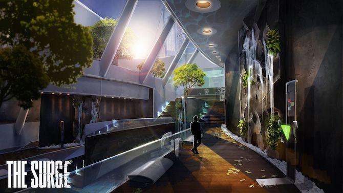 The Surge illustre ses environnements en images