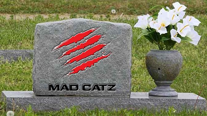 Mad Catz se déclare en faillite, la société entre en liquidation