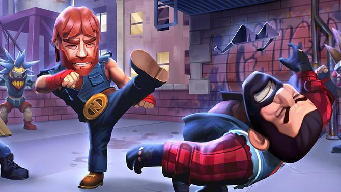 Chuck Norris présente Nonstop Chuck Norris pour iOS et Android en vidéo