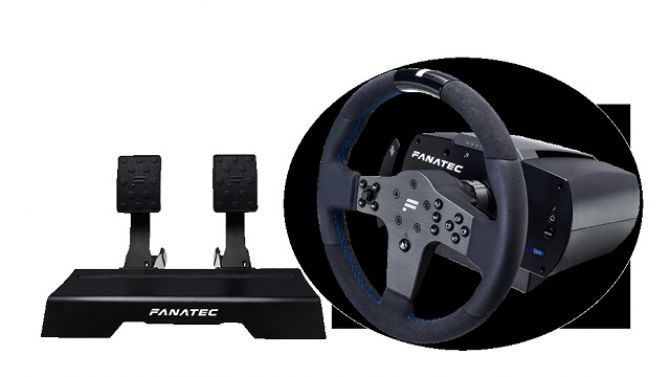 fanatec propose un nouveau volant haut de gamme pour ps4. Black Bedroom Furniture Sets. Home Design Ideas
