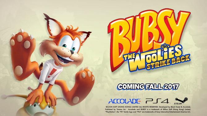 Accolade ressuscite et annonce un nouveau Bubsy sur PS4 et PC !