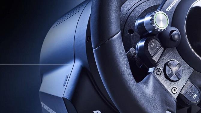 E3 2017 : Thrustmaster lance un nouveau volant pour GT Sport