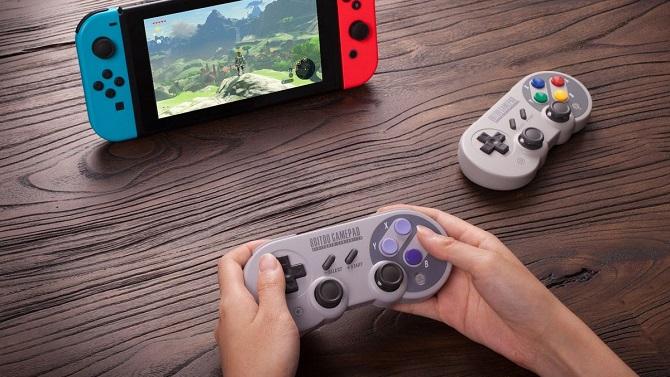 Nintendo Switch : De nouveaux pads Super Nintendo dévoilés