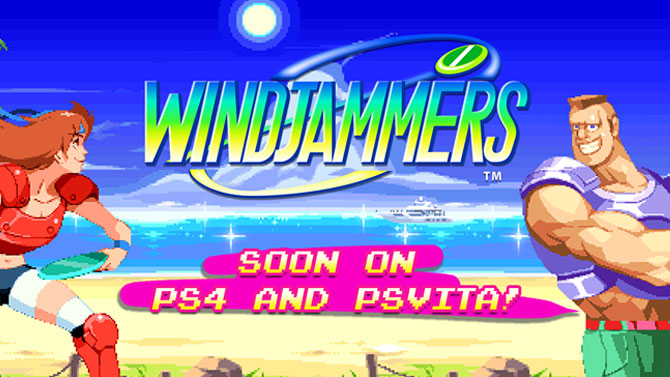 windjammers la date de sortie ps4 et ps vita rvle nouvelle vido. Black Bedroom Furniture Sets. Home Design Ideas