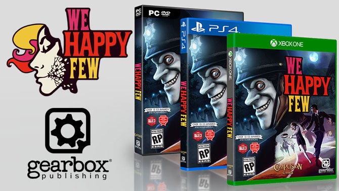 we happy few une date de sortie ferme et une version ps4. Black Bedroom Furniture Sets. Home Design Ideas