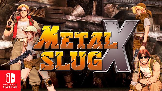 Metal Slug X débarque sur l'eShop de la Switch à coups de grenades