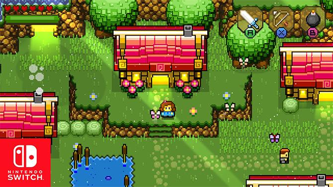 Blossom Tales arrive sur Switch et rend hommage à Zelda 3 en vidéo