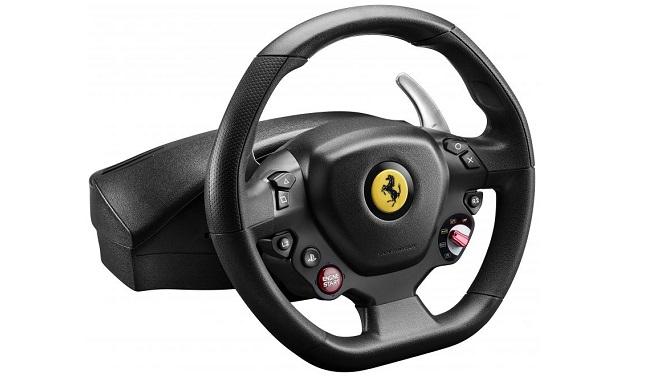 Roulez en Ferrari 488 avec ce volant Thrustmaster