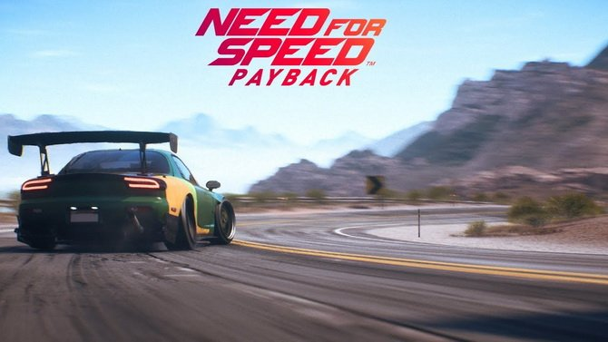 need for speed payback un mode multi en ligne arrive en 2018. Black Bedroom Furniture Sets. Home Design Ideas