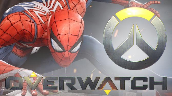 L'image du jour : Quand Spider-Man débarque dans Overwatch, ça fait mal