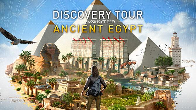 """Assassin's Creed Origins : Le mode éducatif """"Discovery Tour"""" daté et détaillé"""