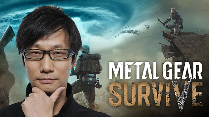 Metal Gear Survive : Konami remercie indirectement Hideo Kojima