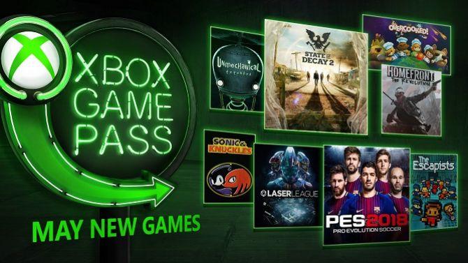 xbox game pass voici les jeux qui dbarquent en mai 2018. Black Bedroom Furniture Sets. Home Design Ideas