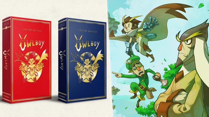 Owlboy tease une double-édition limitée à 6000 exemplaires