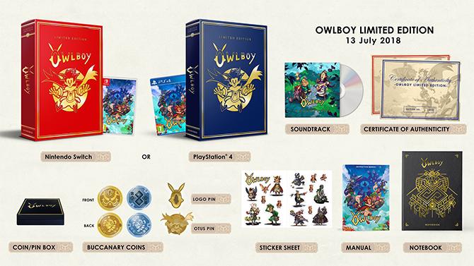 Owlboy lève le voile sur sa version Collector : Découvrez son contenu et sa date de sortie