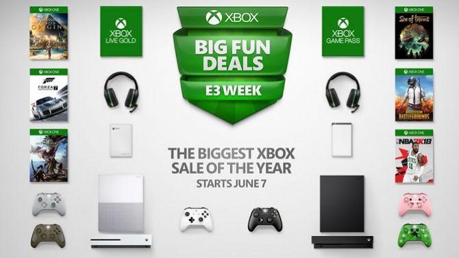 """E3 2018 : Xbox lancera ses """"plus grosses promos de l'année"""" durant l'E3, les infos"""