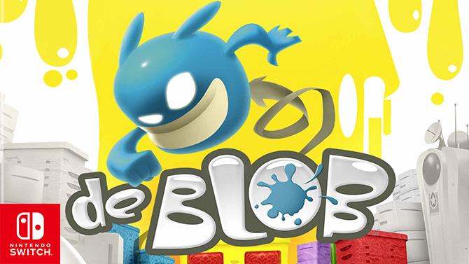 De Blob s'apprête à redonner des couleurs à la Switch