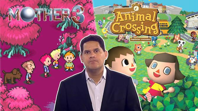 Reggie Fils-Aimé est à l'écoute pour porter Mother 3 et Animal Crossing sur Switch