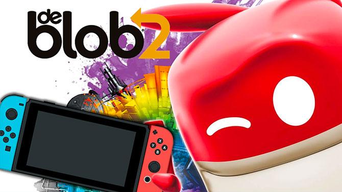 de Blob 2 arrive très bientôt sur Switch