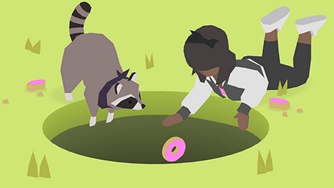Donut County : Le jeu avec un trou, là, arrive cet été