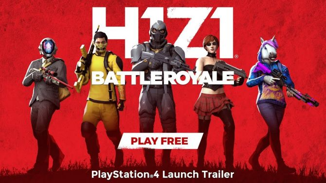 H1Z1 dévoile sa bande annonce de lancement Battle Royale sur PS4