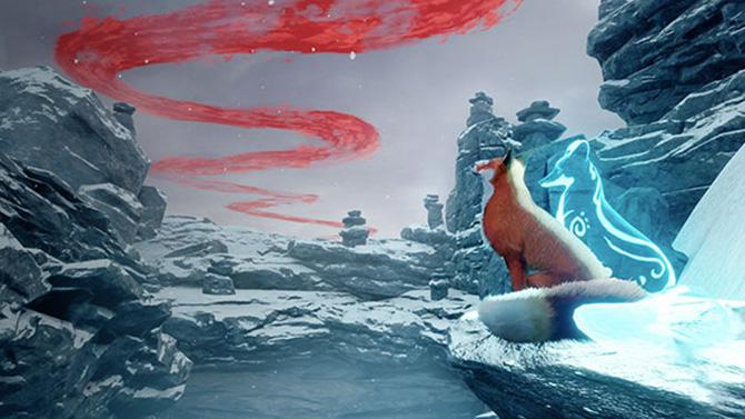 Découvrez la première vidéo de Spirit of the North : Comme un air d'Okami ?