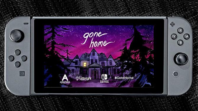 Gone Home trouve une nouvelle maison sur Nintendo Switch