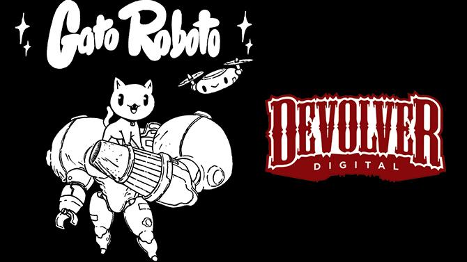 Devolver annonce Gato Roboto : Un Metroidvania avec la plus mignonne des créatures