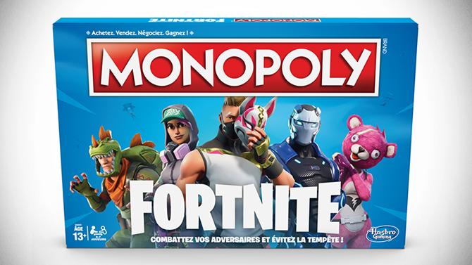 Le Monopoly Fortnite débarque en France, date de sortie et prix révélés