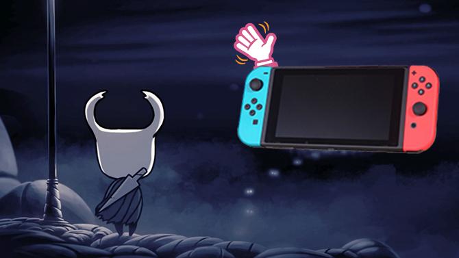 Hollow Knight : La Switch dit adieu à sa version physique