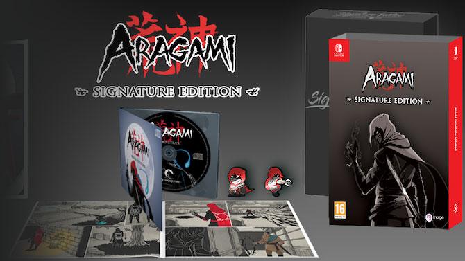 Ça sort sur Switch : Aragami Shadow Edition est daté, avec en sus un collector