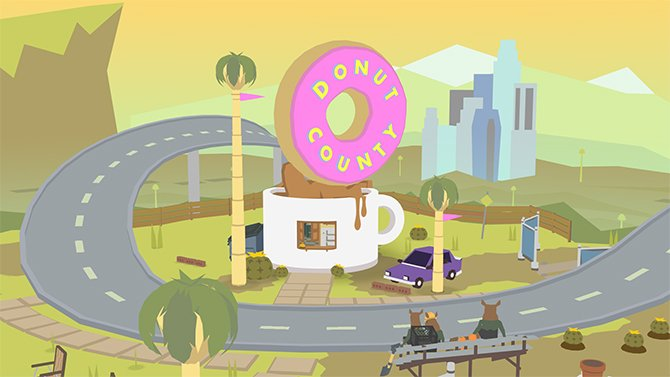 Donut County fait son trou sur Switch et Xbox One en vidéo