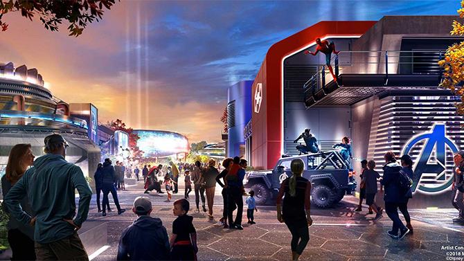 Disneyland Paris : Un premier aperçu de la zone Marvel, infos et images
