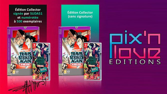 Travis Strikes Back Collector s'annonce en deux versions très limitées chez Pix'n Love