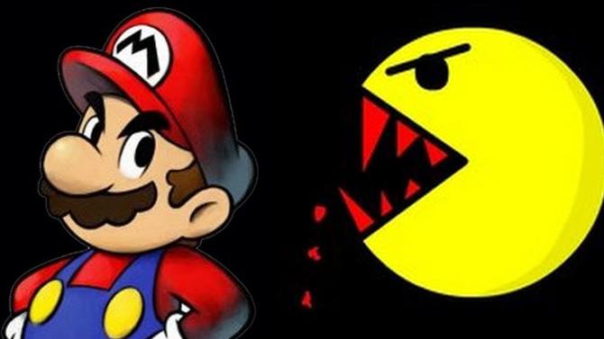 L'image du jour : Mario Vs Pac-Man, qui est le plus fort ? Le duel sans pitié